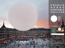 2ND PRIZE WINNER charliehebdoportablepavilion architecture competition winners