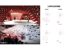 Honorable mention - charliehebdoportablepavilion architecture competition winners