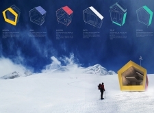 1ST PRIZE WINNER himalayanmountainhut architecture competition winners