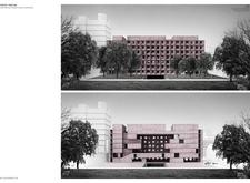 Honorable mention - tokyopoplab architecture competition winners