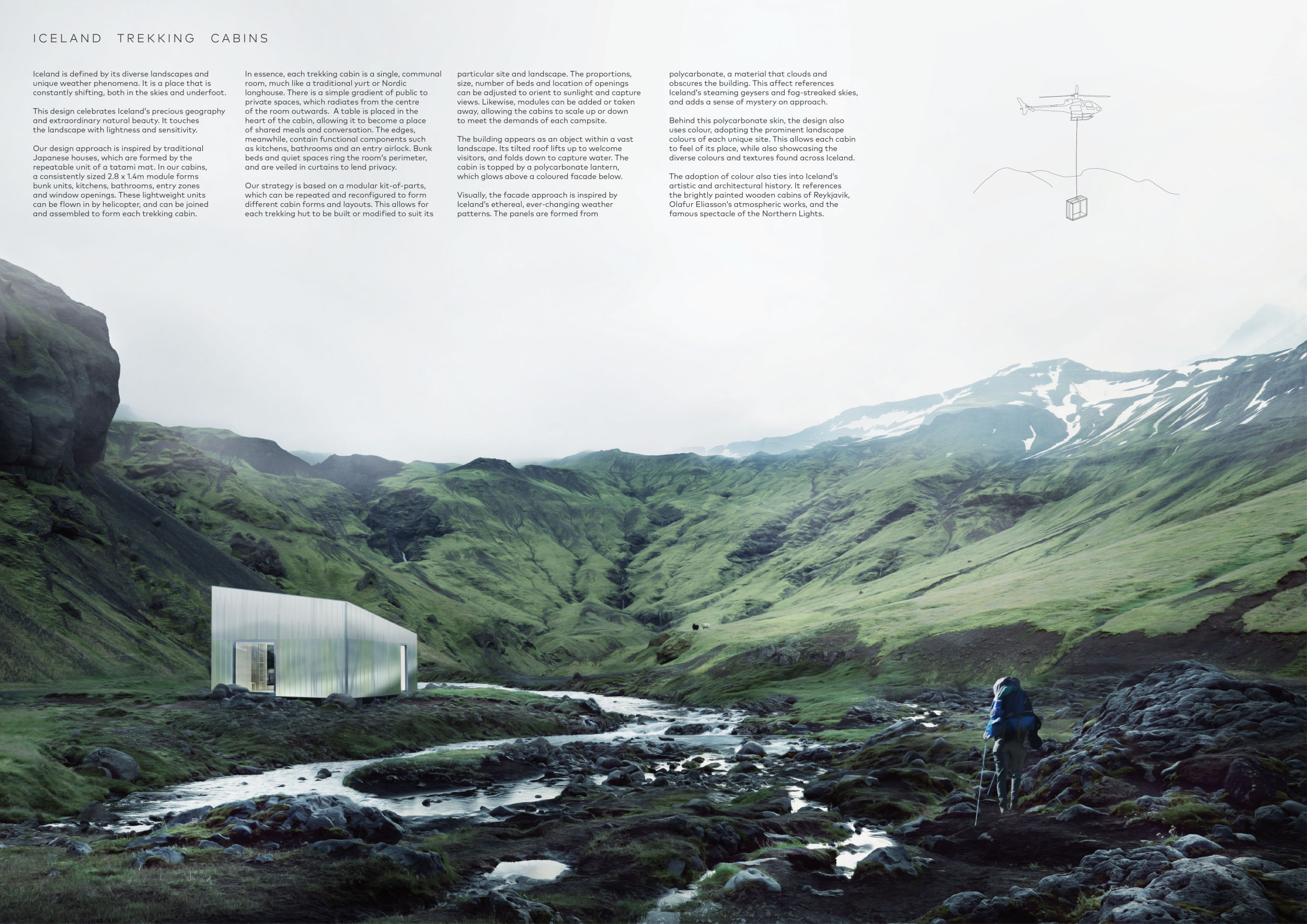Superb Iceland Trekking Cabins Competition Winners Download Free Architecture Designs Xoliawazosbritishbridgeorg