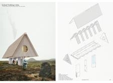 2ND PRIZE WINNER icelandtrekkingcabins architecture competition winners