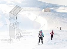Honorable mention - icelandtrekkingcabins architecture competition winners