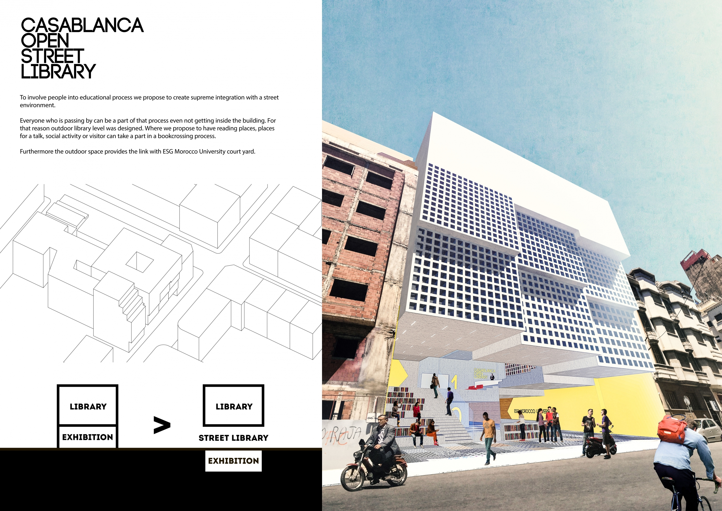 Casablanca Bombing Rooms Competition Winners