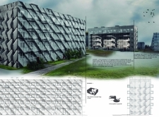 2ND PRIZE WINNER brutalistfacelift architecture competition winners