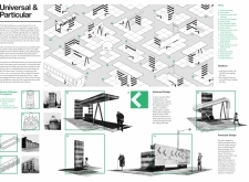 Honorable mention - warportmicrotecture architecture competition winners