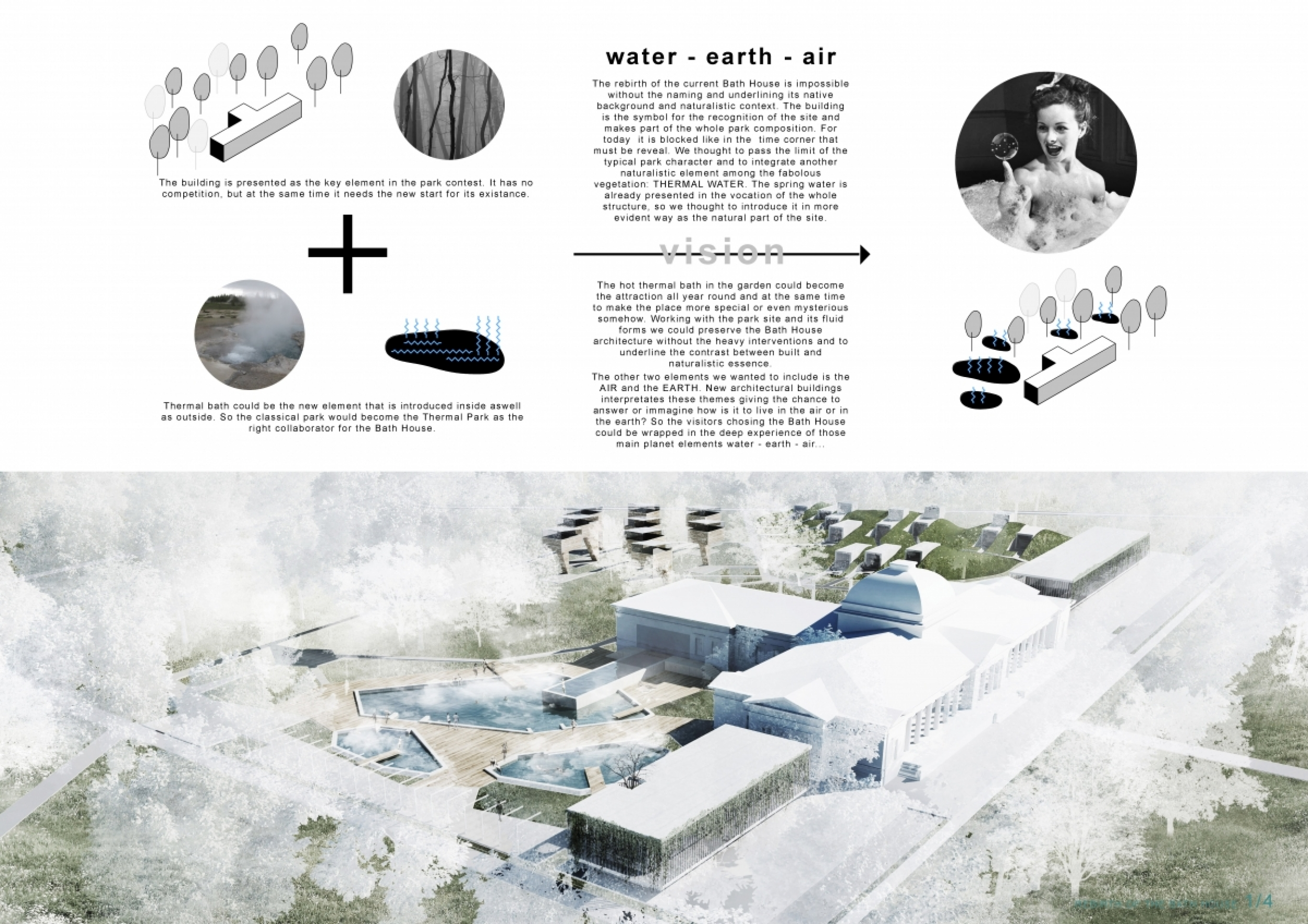 Architecture House Competition rebirth of the bath house competition winners