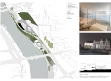 3RD PRIZE WINNER triplebridgewaterfront architecture competition winners