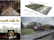 Honorable mention - balticthermalpoolpark architecture competition winners
