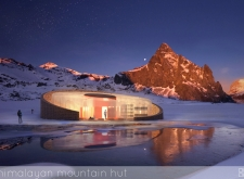 3RD PRIZE WINNER himalayanmountainhut architecture competition winners