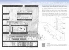 3RD PRIZE WINNER casablancabombingrooms architecture competition winners