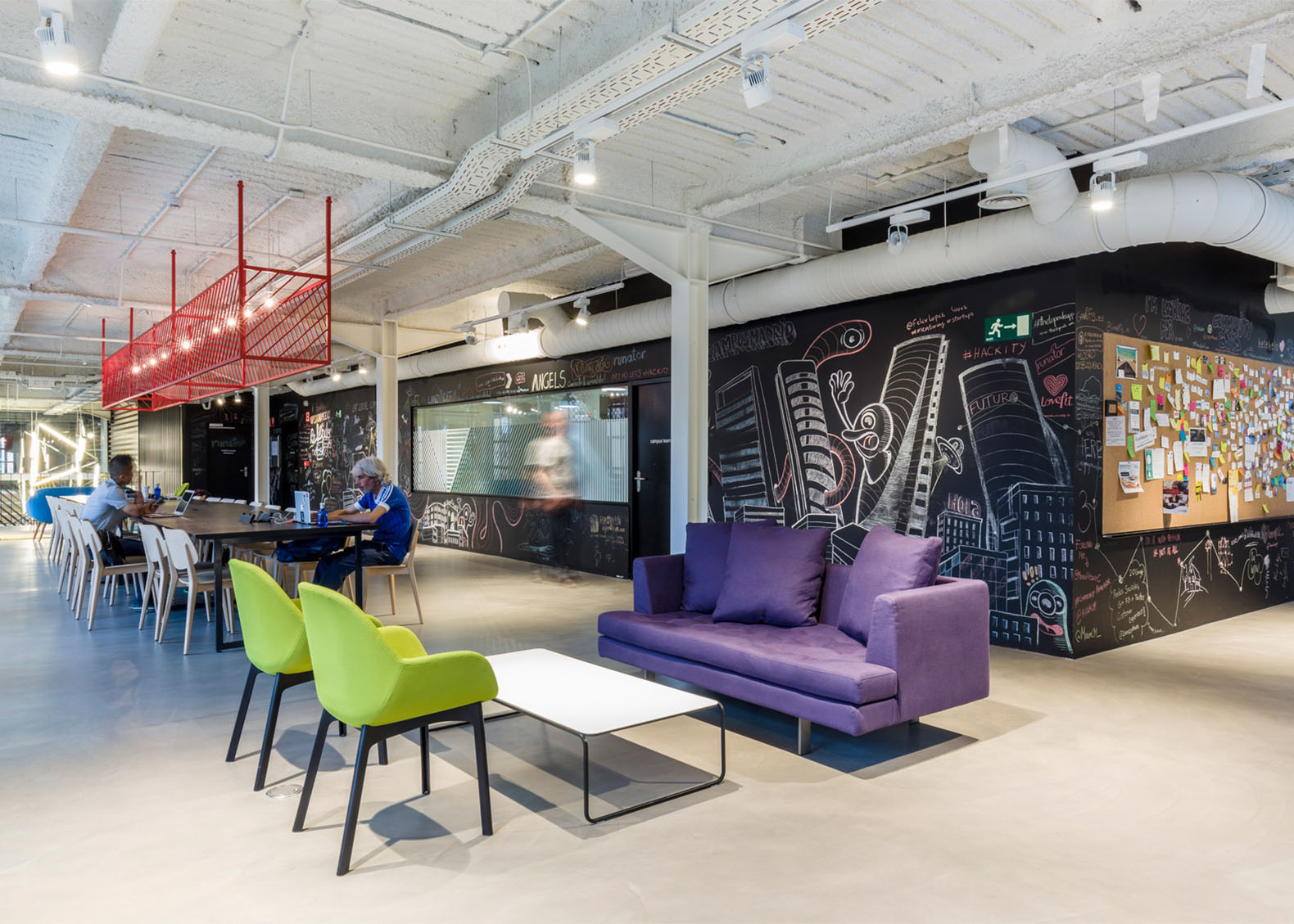 The architecture of innovative co working spaces Coworking space design ideas