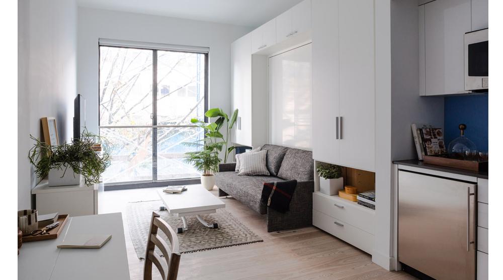 Micro Apartments Architecture